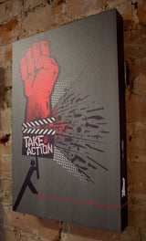 "Tim Mulvey ""Take Action"" - Canvas"
