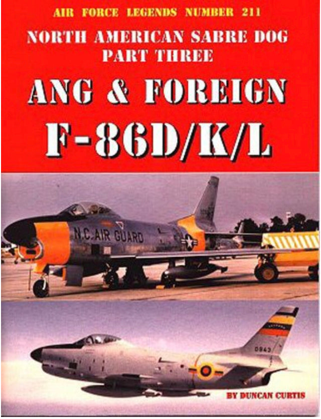 F-86 Sabre Dog Part 3 Book
