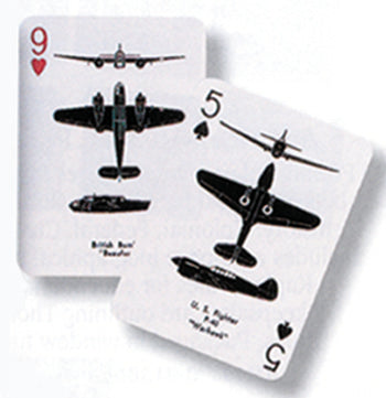Airplane Spotter Deck of Cards
