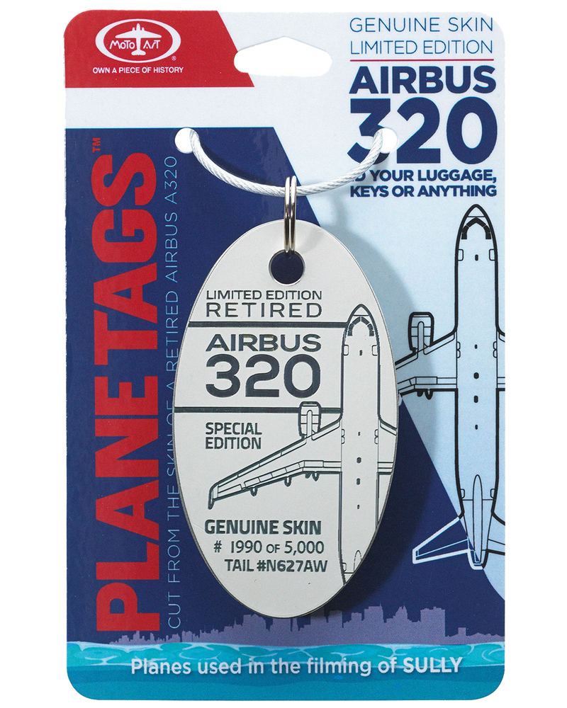 "Airbus 320 ""Sully"" Plane Tag"