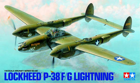 Lockheed P-38F/G Lightening Model Kit