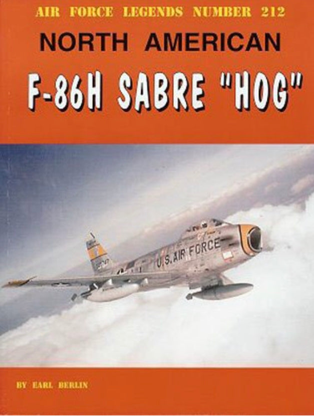 "North American F-86 Sabre ""HOG"" Book"