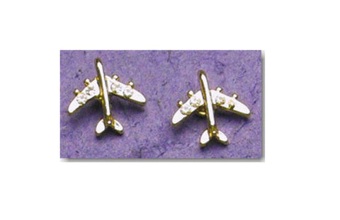 Crystal Jet Earrings
