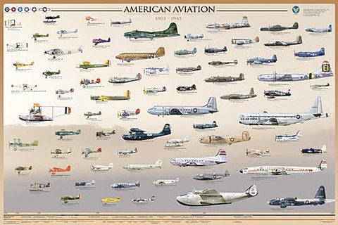 Early American Aviation Poster