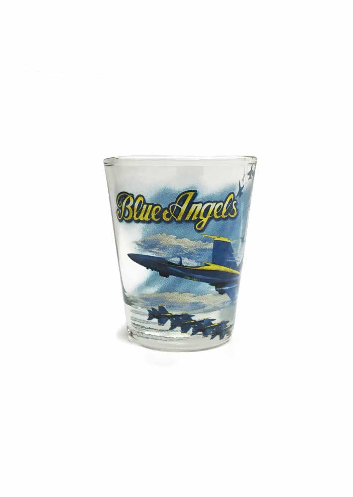 Blue Angels Shot Glass
