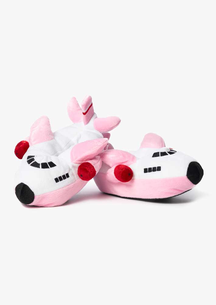 Boeing Pink Airplane Slippers