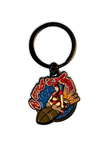 Nose Art Keychains