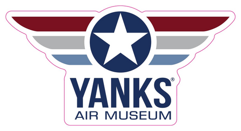 Yanks Wings Logo Sticker