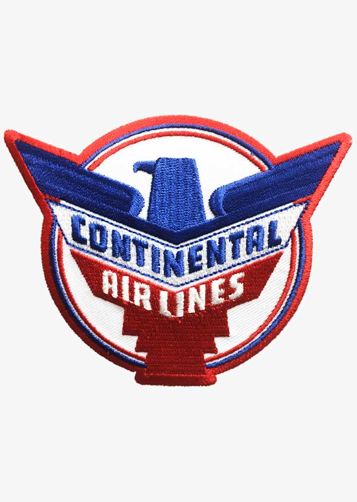 Continental Retro Patch