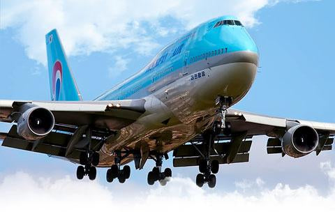 Boeing 747 Korean Air Plane Tag
