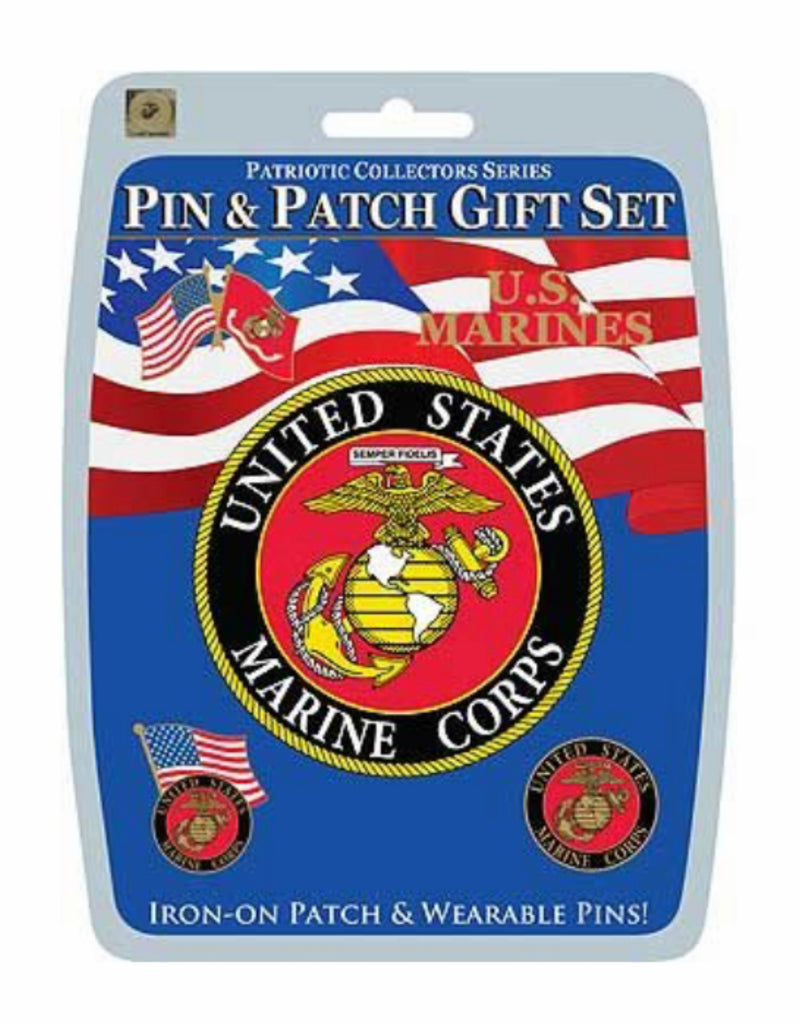 Military Pin & Patch Gift Set