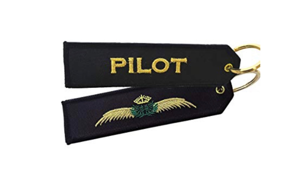 Pilot Wings Keychain