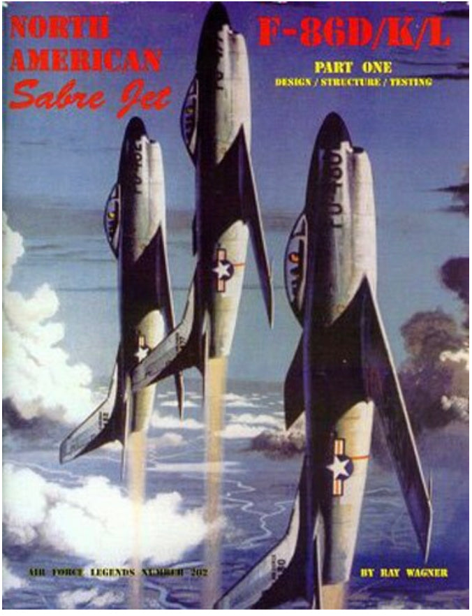 F-86D Sabre Part 1 Book