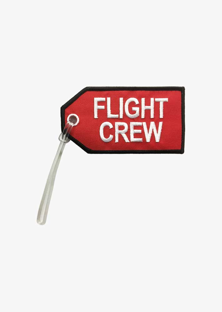 Flight Crew Red Bag Tag