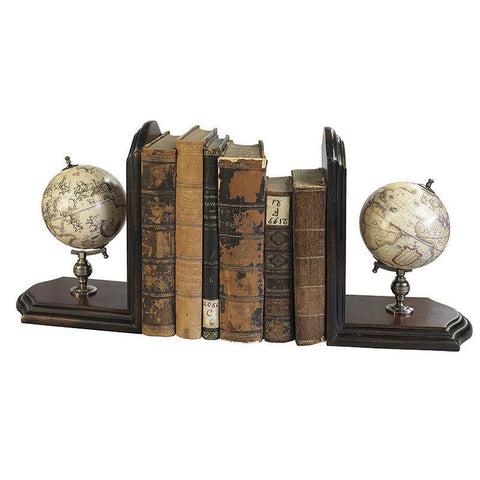 Globe Book End (Pair)