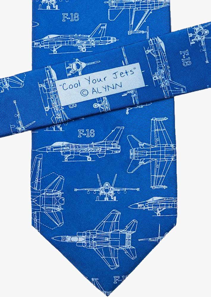 Cool Your Jets Silk Necktie