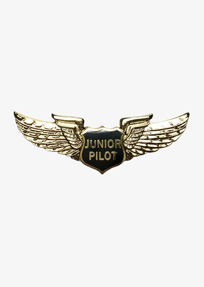 Junior Pilot Wings Pin