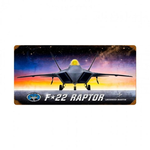 F-22 Raptor Tin Sign