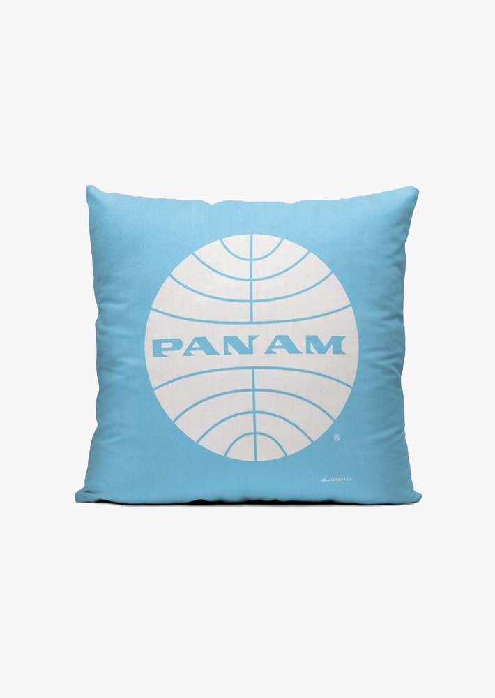 Pan Am Logo Throw Pillow