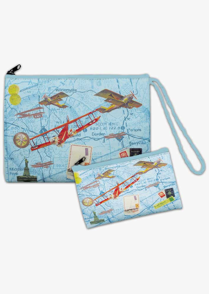 Ladies Aviation Purse Set