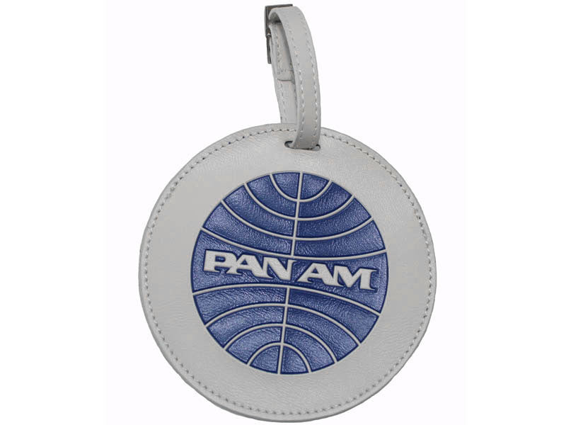 Pan Am Luggage Tag