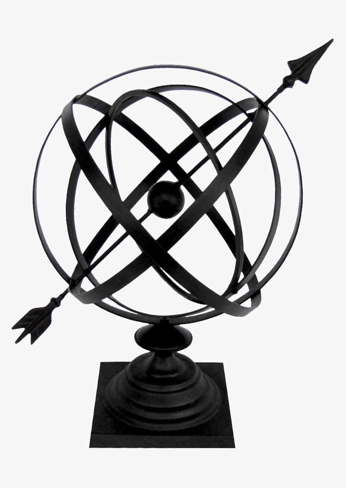 "24"" Armillary Sphere Garden Arrow"