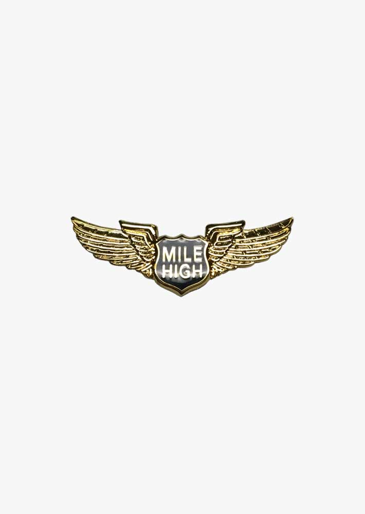Mile High Wings Pin