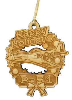Laser Cut Wooden Aircraft Ornaments