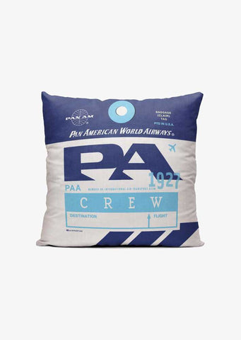 PA Pan Am Throw Pillow