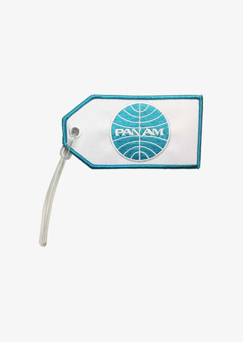 Pan Am Airline Bag Tag