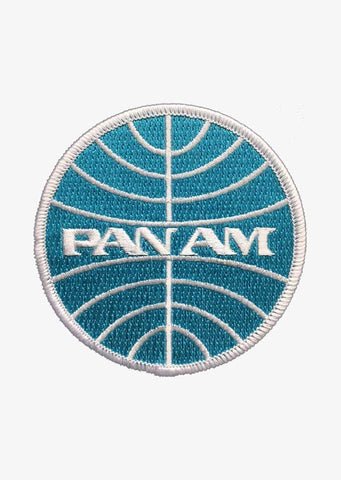 Pan Am Round Patch