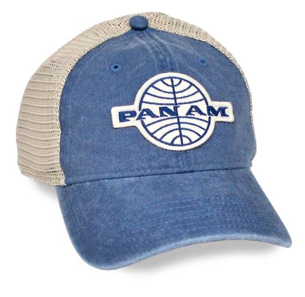 Pan Am Snapback Mesh Cap