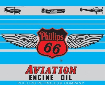 Phillips 66 Aviation Engine Oil