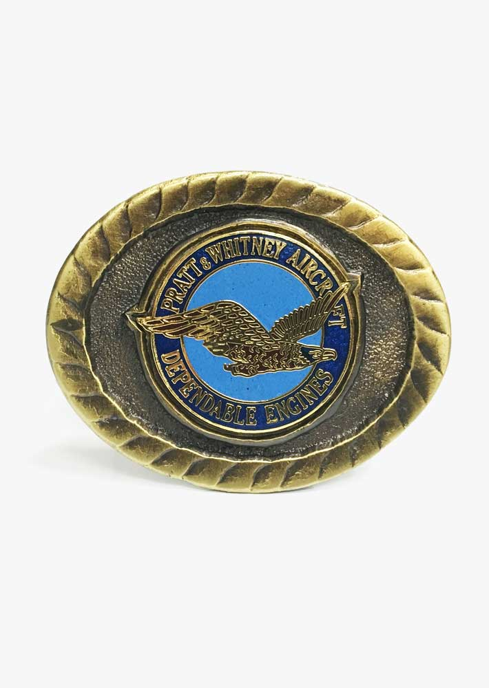 Pratt & Whitney Belt Buckle