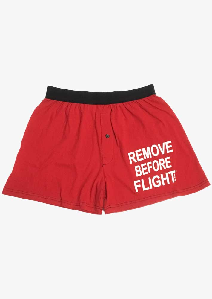 Remove Before Flight Boxers