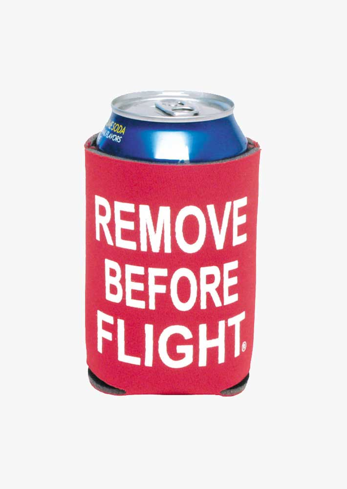 Remove Before Flight Coozie