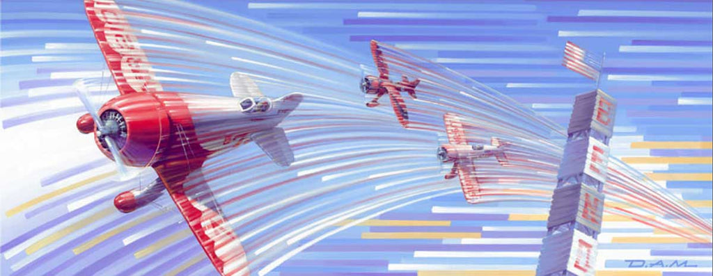 Gee-Bee Canvas Print Art