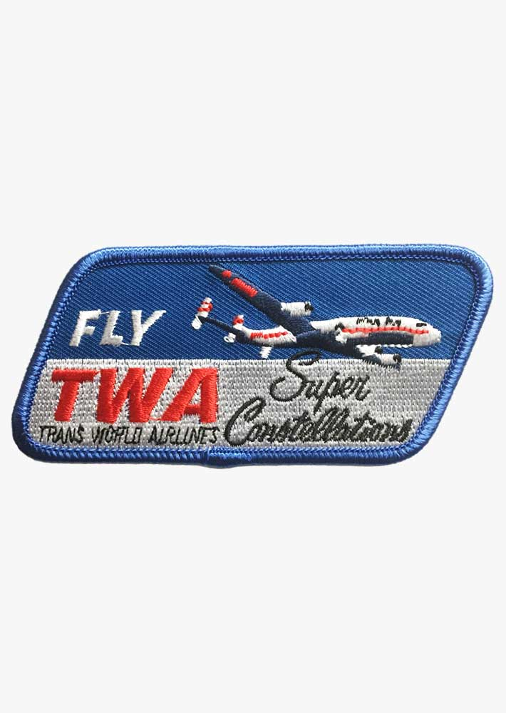 TWA Constellation Patch