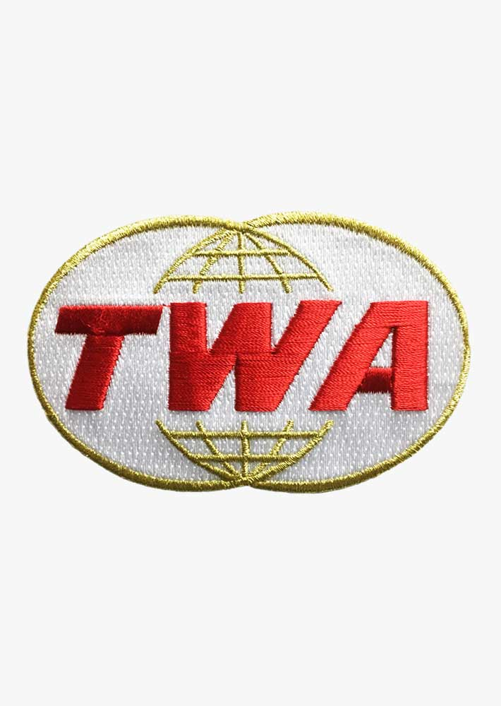 TWA Retro Logo Patch