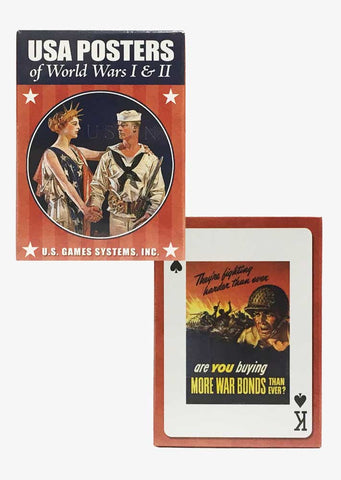 USA Posters Deck of Cards