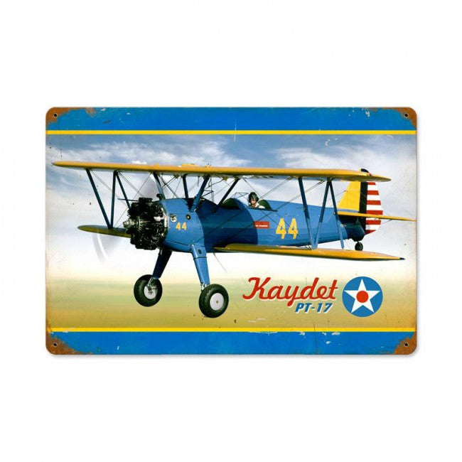 Stearman Kaydet Tin Sign