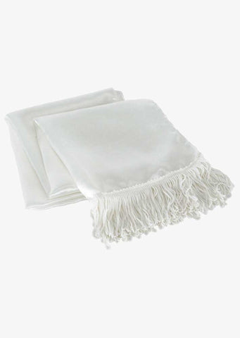 Aviator White Scarf