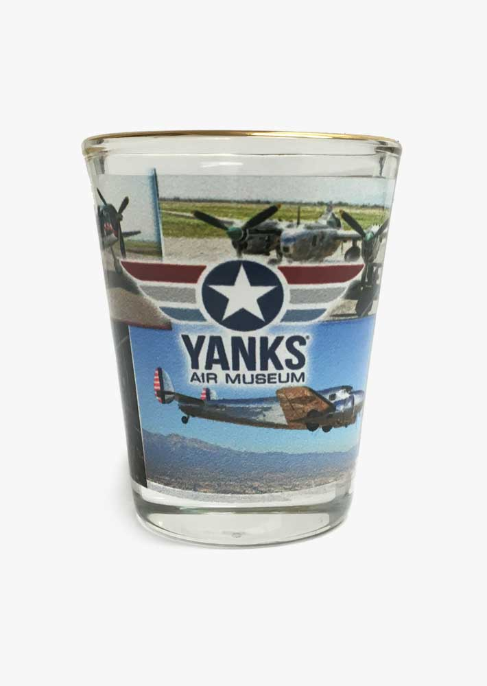 Yanks Custom Shot Glass