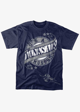 Yanks Scroll Navy Shirt