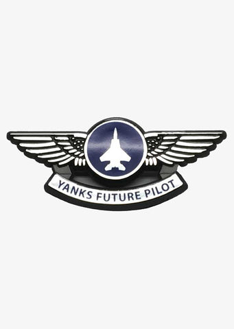 Yanks Silver Pilot Wings