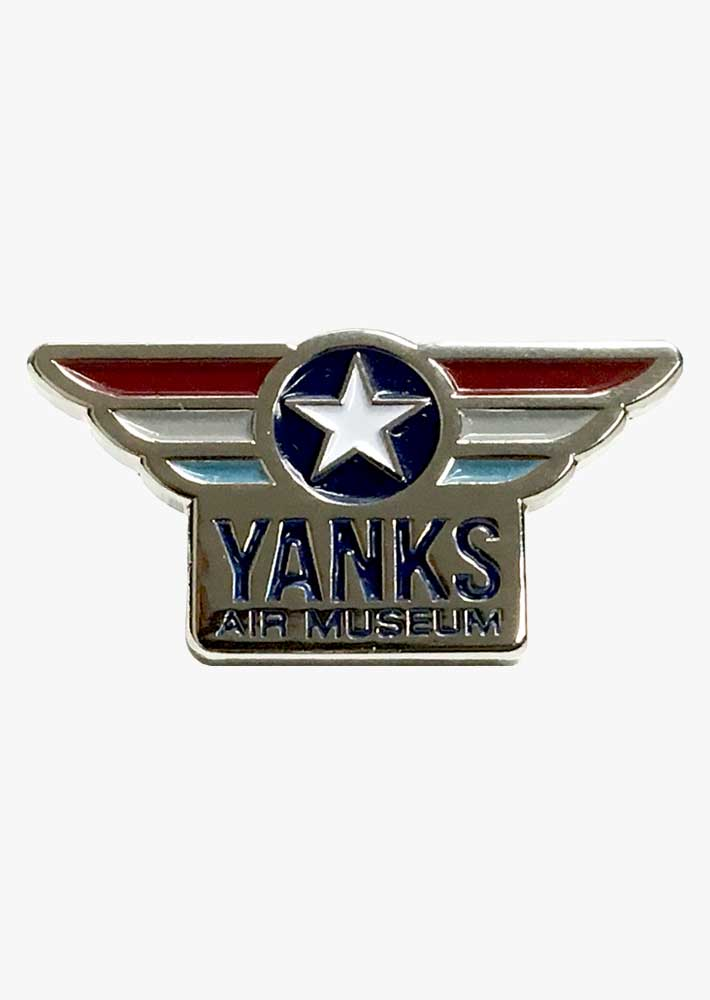 Yanks Wings Logo Pin
