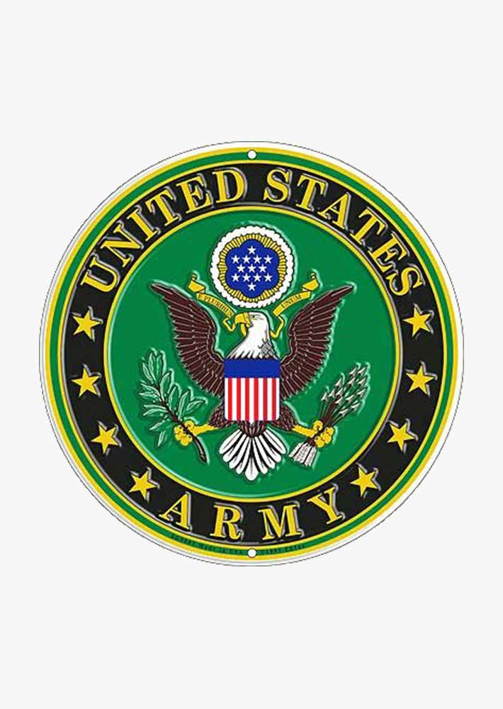 U.S Military Branches Tin Sign