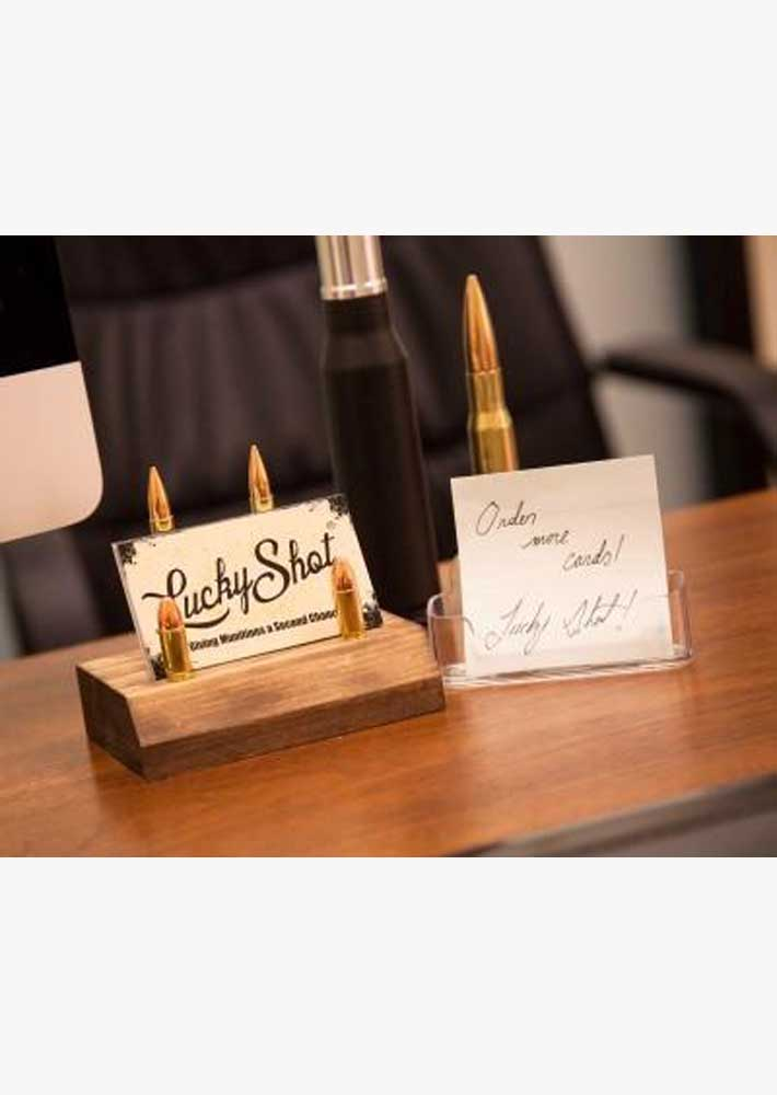 Ammo Business Card Holder