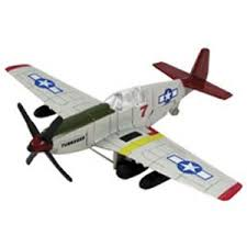 Small In-Air Aircraft Model Toy