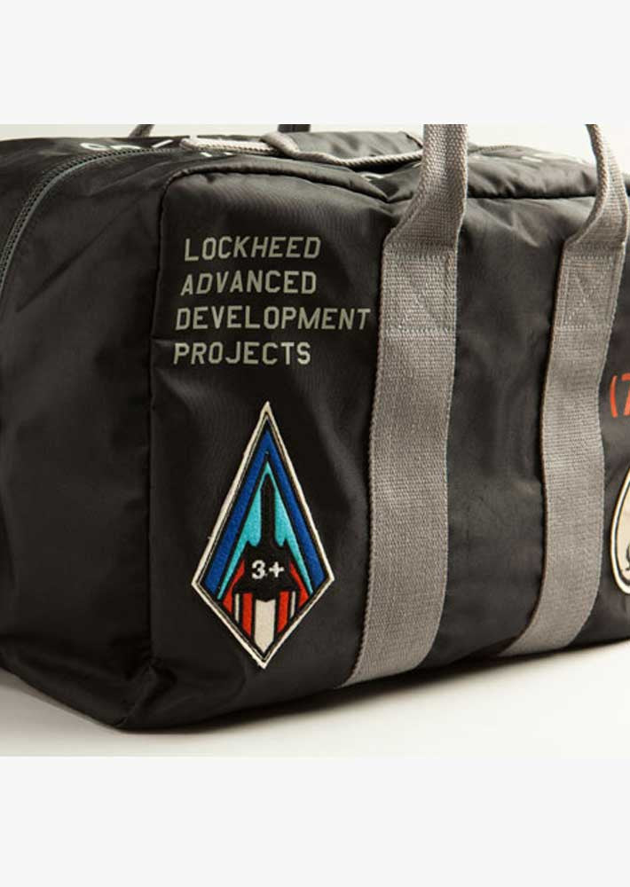 Red Canoe Lockheed Flight Bag
